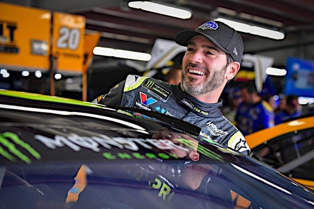 Jimmie Johnson New Hampshire Cup