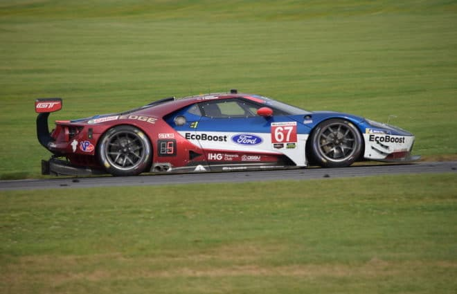 Richard Westbrook Wins Michelin GT Challenge Pole in Wet Conditions