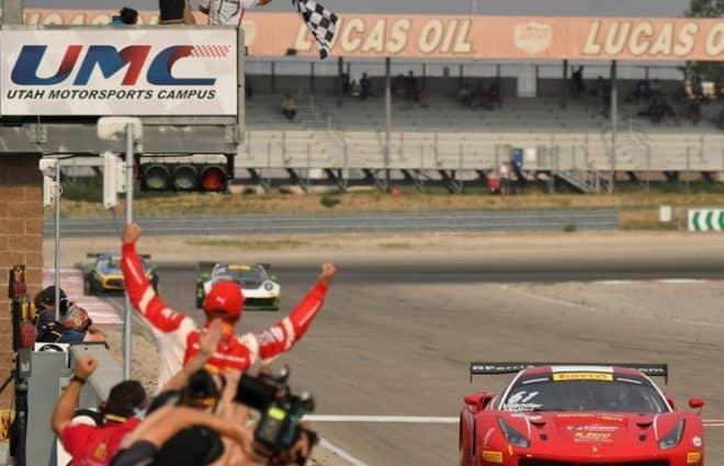 Toni Vilander, Miguel Molina Sweep Utah, Win GT SprintX Title