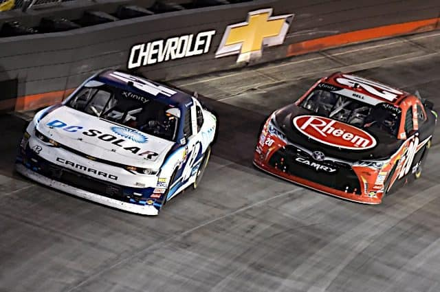 Christopher Bell Has Fun in 2nd Place Finish at Bristol
