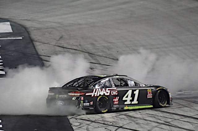 Kurt Busch Bristol Burnout