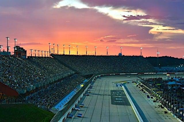 Darlington Raceway Sunset