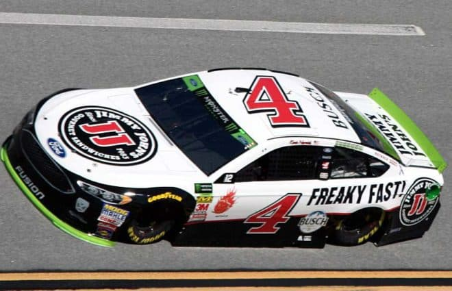 kevin harvick leads sole cup series practice at talladega rh frontstretch com