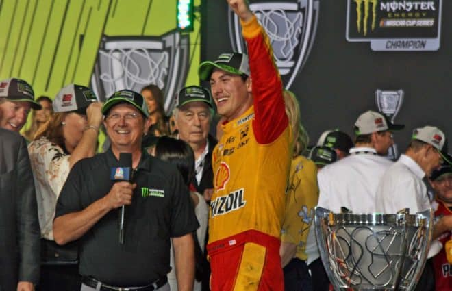 Up to Speed: Appreciate Joey Logano's Consistency