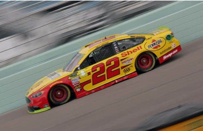 Joey Logano Sweeps Homestead Saturday Cup Practice Sessions