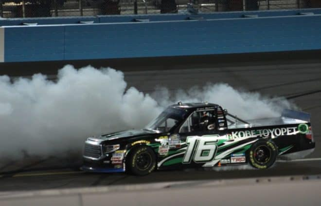 Tracking the Trucks: Brett Moffitt Scores 5th 2018 Win at ISM Raceway