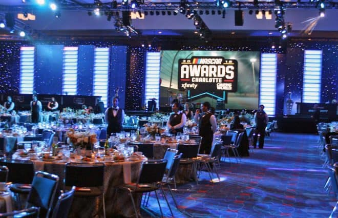 Brett Moffitt and Tyler Reddick Championships Celebrated in Charlotte