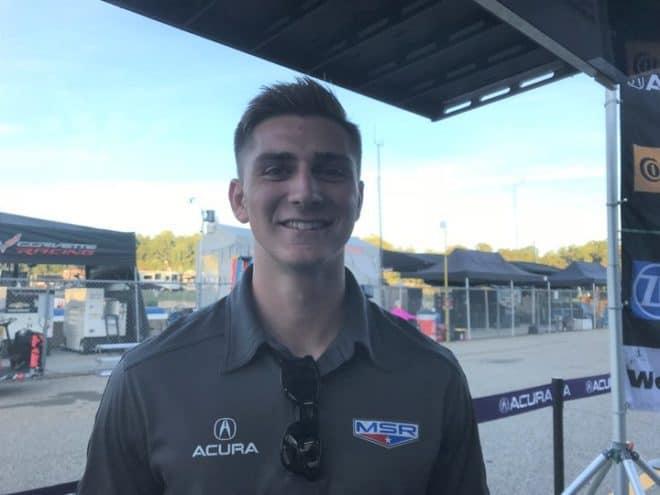 2018 Road Atlanta IWSC Trent Hindman Phil Allaway