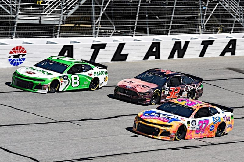 2019 Atlanta CUP Daniel Hemric pack racing NKP