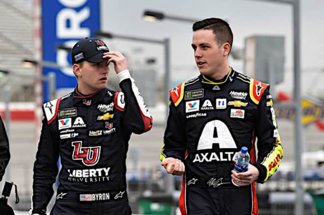 2019 Atlanta CUP William Byron Alex Bowman NKP