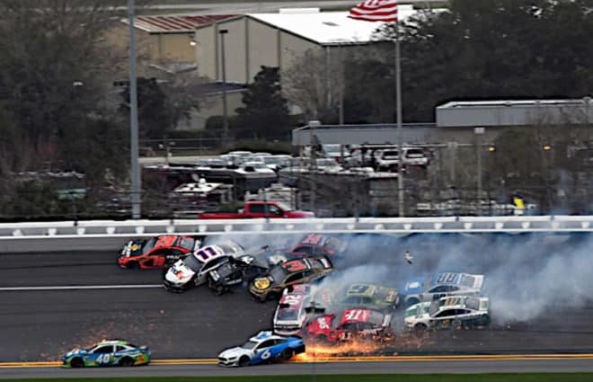 Odds & Ends Around the Track: NASCAR Fans Love Crashes Edition