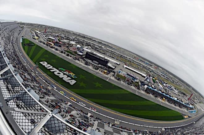 2019 Daytona Clash CUP track overhead NKP