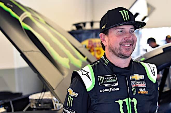 2019 Daytona I CUP Kurt Busch smiling NKP