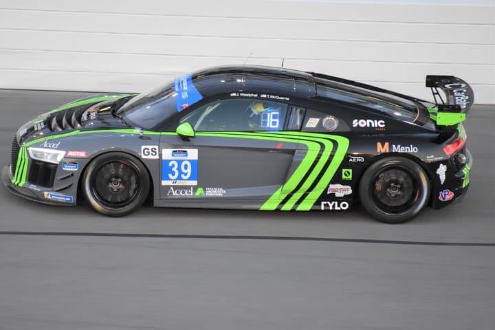 2019 Daytona IMPC Tyler McQuarrie Car Phil Allaway