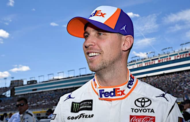 Denny Hamlin Enjoying Success After Disappointing 2018, Enters Homestead with Confidence