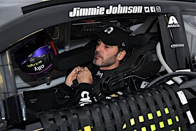 2019 Texas Cup Jimmie Johnson Cockpit Nigel Kinrade Photography