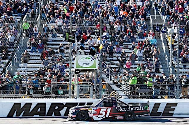 Tracking The Trucks: Kyle Busch Continues Dominance At Martinsville