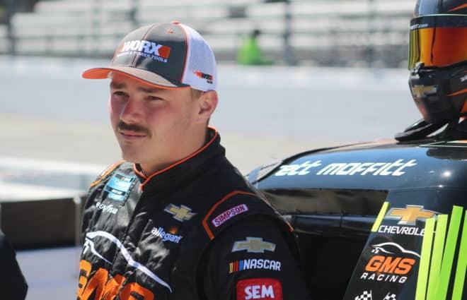 Defending Truck Champion Brett Moffitt's Enjoying His Time With GMS Racing