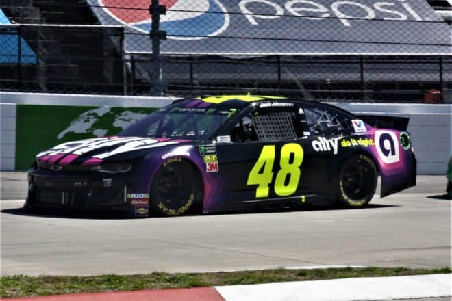 Martinsville Cup 2019 Mike Neff Jimmie Johnson