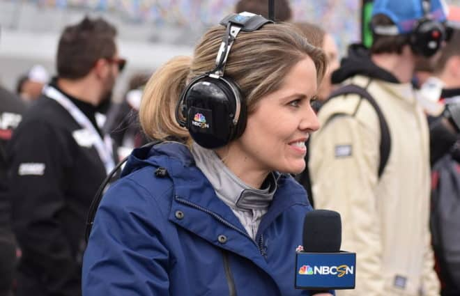 The Life of a Pit Reporter, Courtesy of Kelli Stavast