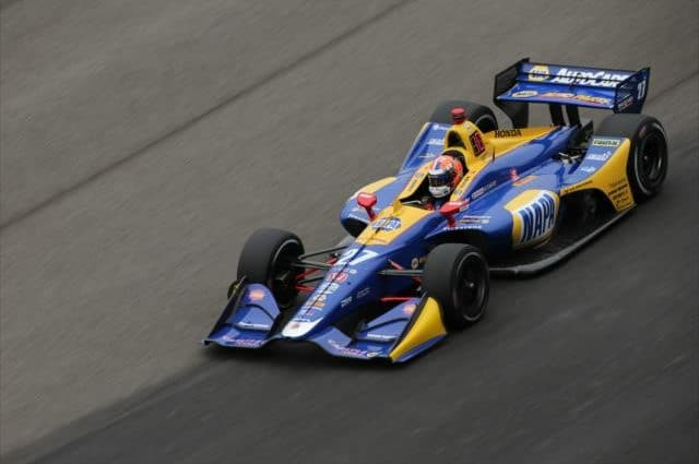 Lack of Lapped Traffic Respect Fueled Alexander Rossi's Angry Driving at End of Indy 500