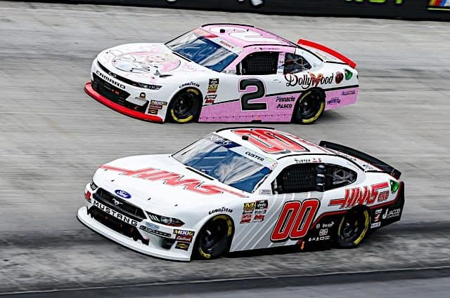 Cole Custer, Tyler Reddick Tangle After Wild Xfinity Race in Kansas