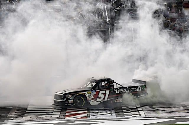 Tracking the Trucks: Kyle Busch Closes Out Perfect Season With a Win in Charlotte