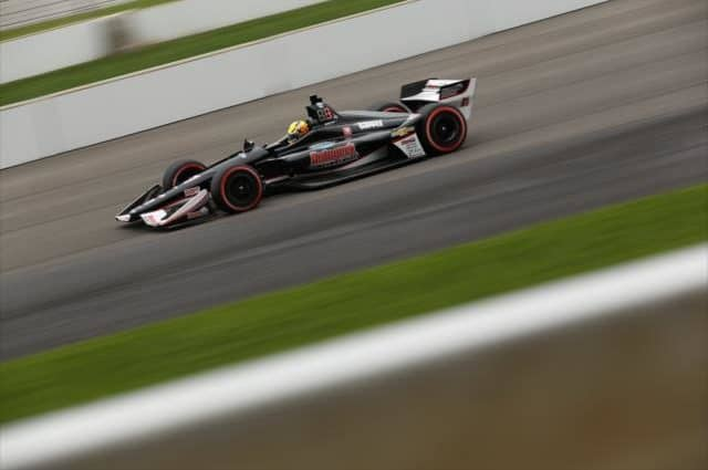 Spencer Pigot Leads Way in Day 1 of Qualifying; Fast 9 and Last Row Drivers Set