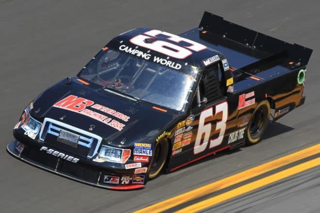 2012 CWTS Caleb Roark MB Motorsports NASCAR via Getty Images