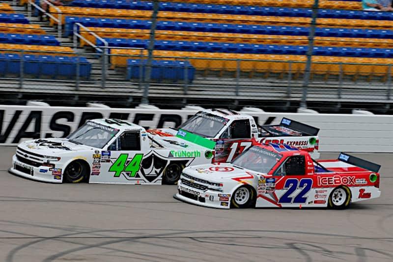 2019 Iowa I GOTS Ross Chastain pack racing NKP