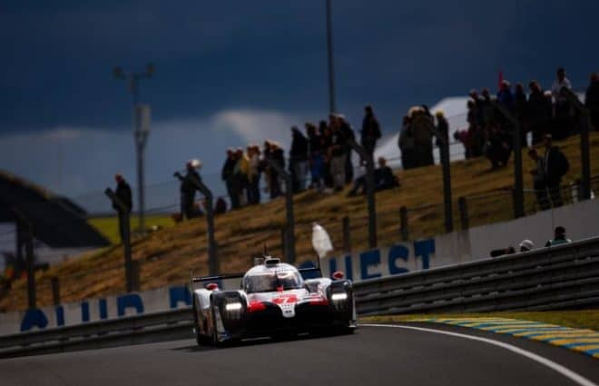 Kamui Kobayashi Wins 24 Hours of Le Mans Pole