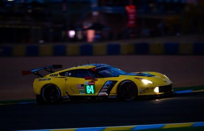 Toyota Dominates 1st Quarter of 2019 24 Hours of Le Mans; Corvette No. 64 Out