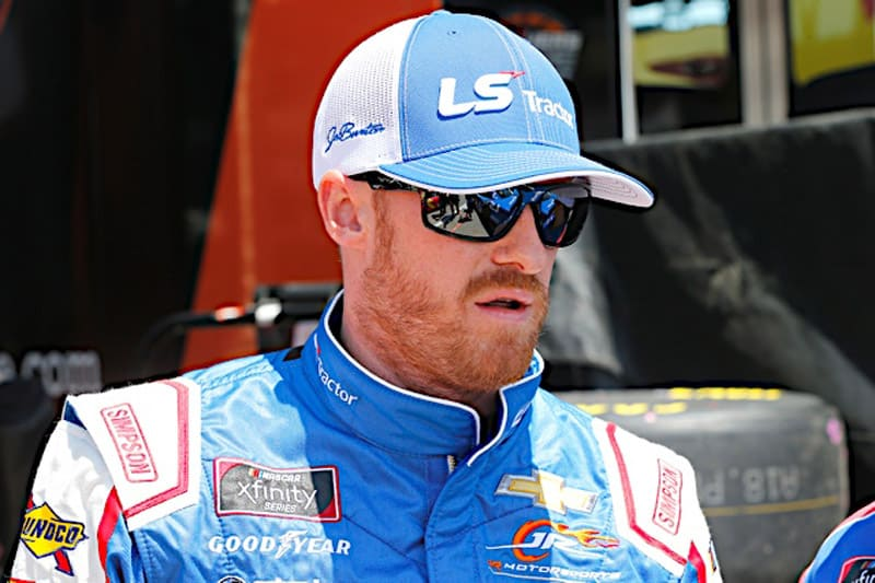 2019 Michigan I NXS Jeb Burton face NKP