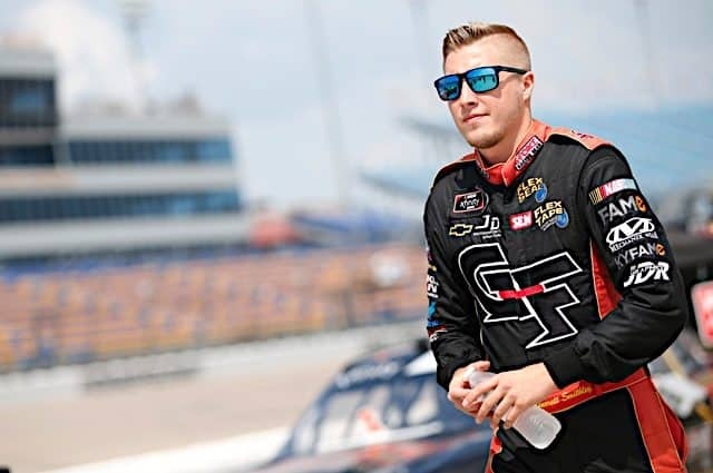 Garrett Smithley, Contec Pair for Xfinity Charlotte Race