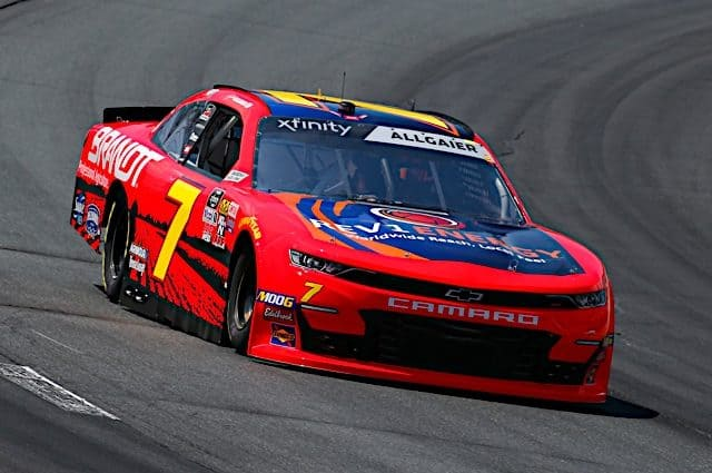 Justin Allgaier Pleased with Third-Place Finish at New Hampshire