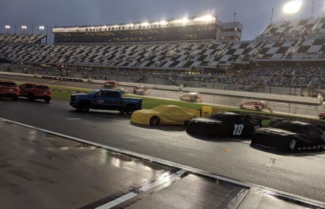 Pace Laps: Rain & Controversy for NASCAR at Talladega Superspeedway