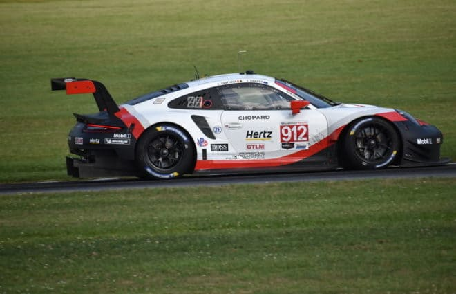 Laurens Vanthoor Wins Michelin GT Challenge At VIR Pole