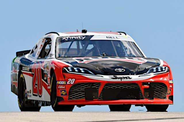 Christopher Bell Leads Xfinity Practices at Road America