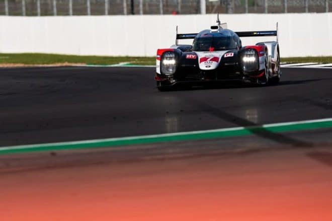 2019 Silverstone WEC Mike Conway Car Marius Hecker Adrenal Media