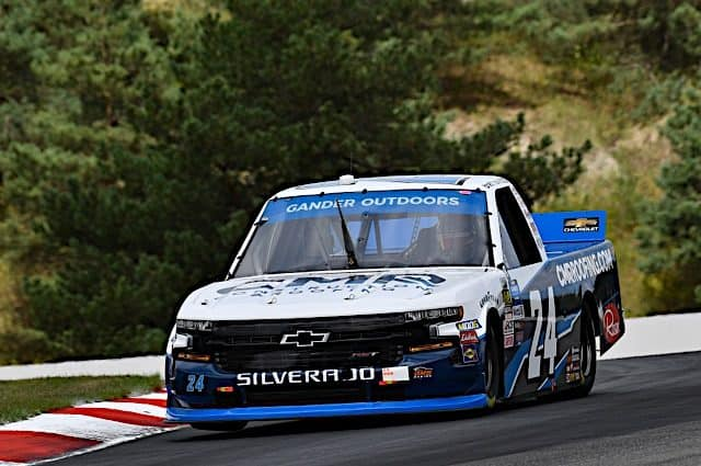 Brett Moffitt Wins 2019 Chevrolet Silverado 250 Pole
