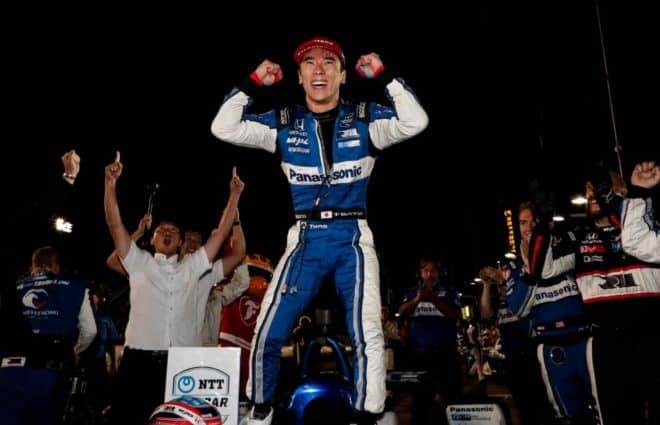 Takuma Sato Gets Redemption in Wild Bommarito Automotive Group 500