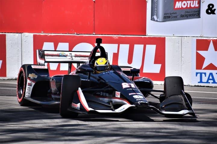 2019 Long Beach IndyCar Spencer Pigot Car Phil Allaway
