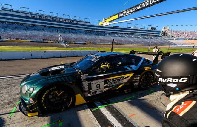 K-PAX Racing Wins Blancpain GT Race No. 1 at Las Vegas