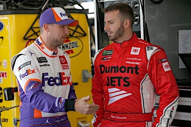 Denny Hamlin and Matt DiBenedetto are solid picks for the 2021 Busch Clash Photo: Nigel Kinrade Photography