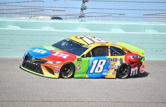 Kyle Busch Leads Lone Homestead Practice, Joe Gibbs Racing 1-2-3