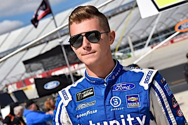 Matt Tifft, BJ McLeod Operating Cup Charter in 2021