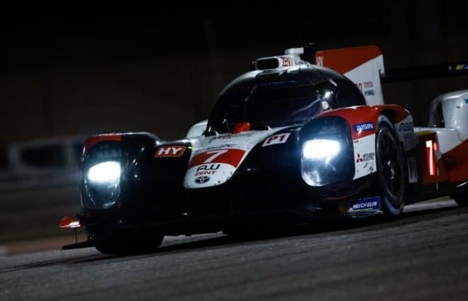 Toyota Avoids Collision, Earns 1-2 Finish in Bahrain