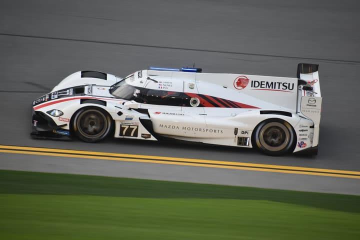 2020 Daytona IWSC Oliver Jarvis Car Phil Allaway