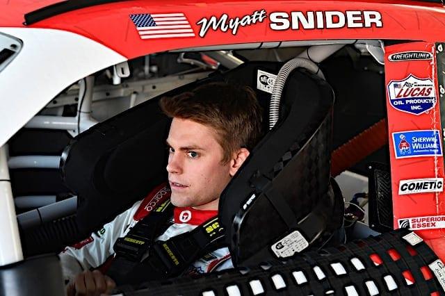 2020 Las Vegas NXS Myatt Snider Cockpit Nigel Kinrade Photography