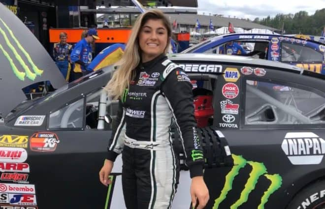 Hailie Deegan Ready For The Next Chapter In Her Nascar Journey